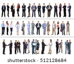 set of business people isolated ... | Shutterstock . vector #512128684