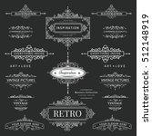 set of creative vector... | Shutterstock .eps vector #512148919