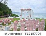 wedding setup | Shutterstock . vector #512157709