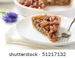Pecan Pie Slice Without Whippe...