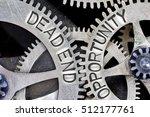 macro photo of tooth wheel... | Shutterstock . vector #512177761