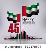 united arab emirates national... | Shutterstock .eps vector #512178979