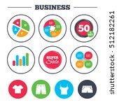 business pie chart. growth...   Shutterstock .eps vector #512182261