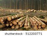 tree felling | Shutterstock . vector #512203771