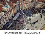 prauge  czech republic   april... | Shutterstock . vector #512208475