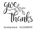 Thanksgiving Typography.give...
