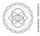contour monochrome design... | Shutterstock . vector #512231671