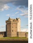 broughty castle on the tay... | Shutterstock . vector #512232001