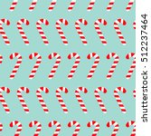 merry christmas candy cane.... | Shutterstock . vector #512237464