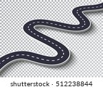 winding road isolated... | Shutterstock .eps vector #512238844