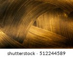 the texture of black gold | Shutterstock . vector #512244589