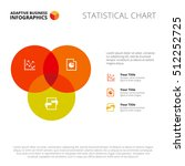 three circle venn diagram slide ... | Shutterstock .eps vector #512252725