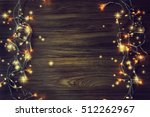 christmas lights. | Shutterstock . vector #512262967