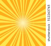bright sunbeams. vector... | Shutterstock .eps vector #512263765