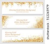 bright glowing metallic texture.... | Shutterstock .eps vector #512265979
