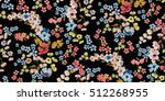 seamless floral pattern in... | Shutterstock .eps vector #512268955