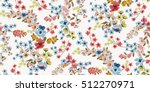 seamless floral pattern in... | Shutterstock .eps vector #512270971