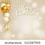 elegant festive background with ... | Shutterstock .eps vector #512287945