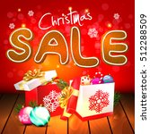 sale. christmas. | Shutterstock .eps vector #512288509
