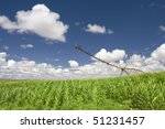 a center modern pivot... | Shutterstock . vector #51231457
