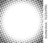 halftone style background... | Shutterstock . vector #512314981