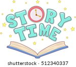 typography illustration... | Shutterstock .eps vector #512340337