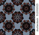 elegant seamless pattern with... | Shutterstock .eps vector #512353525