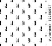 mascara pattern. simple... | Shutterstock .eps vector #512380537
