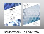 brochure layout template flyer... | Shutterstock .eps vector #512392957