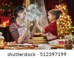 merry christmas and happy... | Shutterstock . vector #512397199