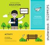 education illustration | Shutterstock .eps vector #512399191