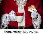 Santa Claus Having Coffee With...