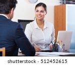 banking european agent... | Shutterstock . vector #512452615