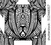 vintage graphic vector indian...   Shutterstock .eps vector #512468317