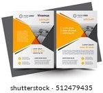 flyer brochure design  business ... | Shutterstock .eps vector #512479435