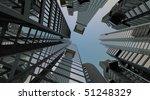 Upward View  Mega City  Hdtv...