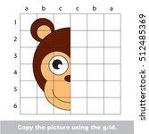 vector kid educational game... | Shutterstock .eps vector #512485369