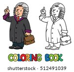 coloring picture or coloring... | Shutterstock .eps vector #512491039