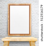 Blank Wooden Photo Frame...