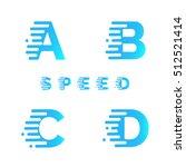 typeface. font. alphabet.... | Shutterstock .eps vector #512521414