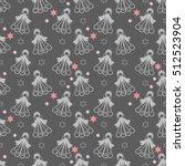 seamless pattern of magic... | Shutterstock .eps vector #512523904
