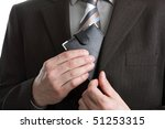 Businessman taking his wallet out of his pocket to pay - stock photo