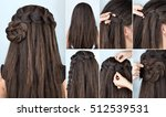 tutorial photo step by step of... | Shutterstock . vector #512539531