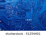 close up of computer circuit...   Shutterstock . vector #51254401