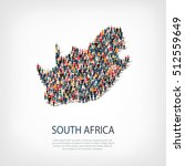 people map country south africa ...   Shutterstock .eps vector #512559649