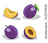 abstract vector illustration... | Shutterstock .eps vector #512574955
