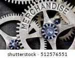 macro photo of tooth wheel... | Shutterstock . vector #512576551