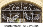 The Old Wrought Iron Gates And...