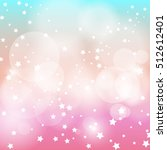 star light with pink and blue... | Shutterstock .eps vector #512612401