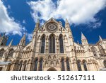 York Minster Building In North...